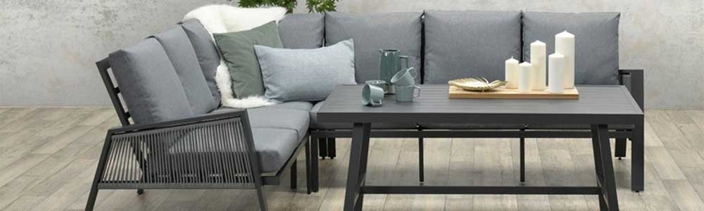 Brendon lounge dining set Tuinmeubelland
