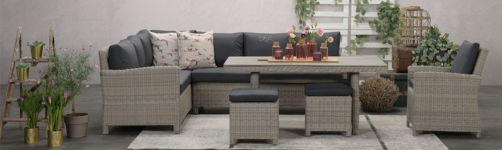 Norma all weather lounge dining set - Tuinmeubelland 2021