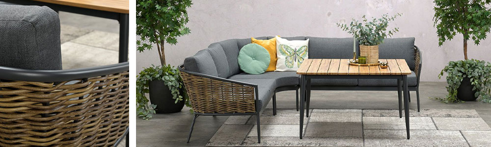 San vito wicker lounge dining set - Tuinmeubelland 2021