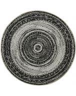 Buitenkleed Antique donker grijs Ø160 cm