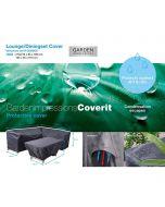 Garden Impressions Loungesethoes R 270x210xH85/90 en 165x95xH70 cm