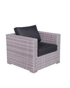 Tennessee loungestoel - licht grijs