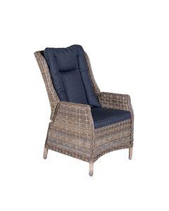 Garden Impressions Marbella verstelbare fauteuil - havanna zand
