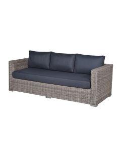 Tennessee loungebank L225 cm - grijs