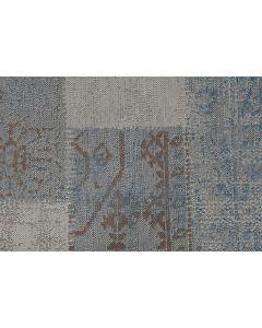 Buitenkleed Blocko blauw 200x290 cm