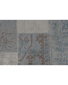 Buitenkleed Blocko blauw 120x170 cm