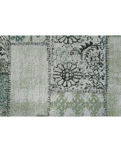 Buitenkleed Blocko groen 200x290 cm