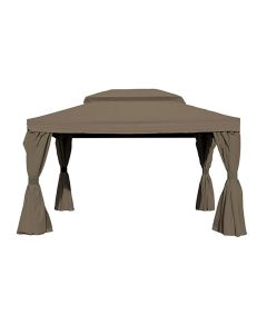 Maxus 2.0 luxe partytent 3x4 cm - taupe