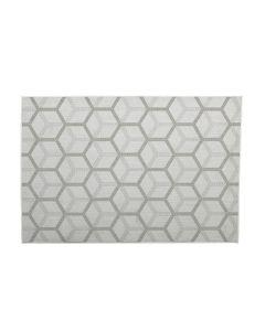 Buitenkleed Gretha Hexagon taupe 120x170 cm