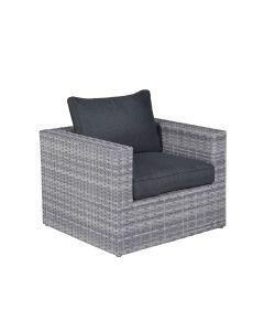 Garden Impressions Carlo lounge fauteuil - licht grijs