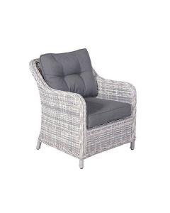 Nova loungestoel - licht grijs