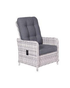 Nova lounge dining stoel verstelbaar - licht grijs