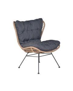 Melfort relax loungestoel - bruin