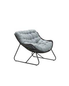Carmen relax loungestoel- zwart