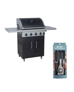 Cozy living BBQ 4+1 burner + gereedschapsset