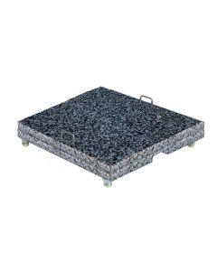 Hawaii special granieten voet 150 kg - 2x75 kg - donker / licht grijs