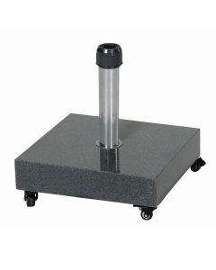 Cosmo parasolvoet graniet 60 kg donker grijs - special