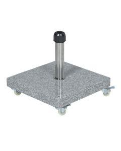 Eureka granieten parasolvoet 40 kg - grijs