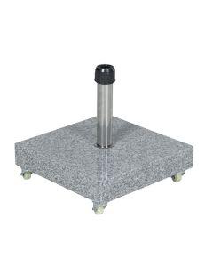 Eureka granieten parasolvoet 60 kg - grijs