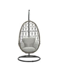 Panama hangstoel swing egg - rope taupe