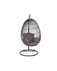 Hangstoel Panama swing egg - donker grijs