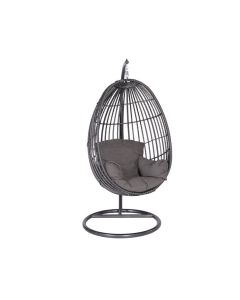 Hangstoel Panama swing chair egg - donker grijs