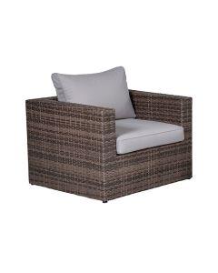 Bruno lounge stoel - bruin