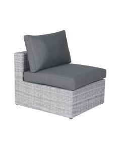 Bruno lounge midden element - licht grijs