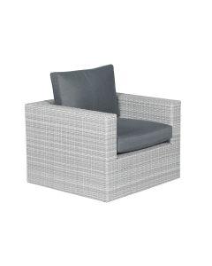 Bruno lounge stoel - licht grijs
