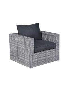 Madrid loungestoel - licht grijs
