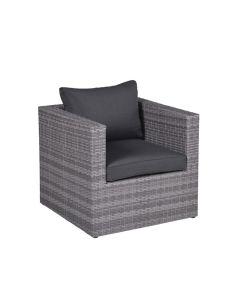 Lyon lounge stoel - grijs