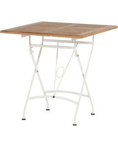 Lindau tafel 70 x 70 cm - wit