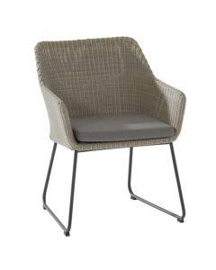 Avila dining fauteuil polyloom pebble