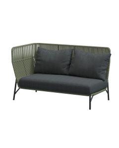 Altoro loungebank rechts - groen