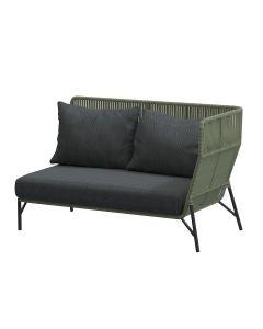 Altoro loungebank links - groen
