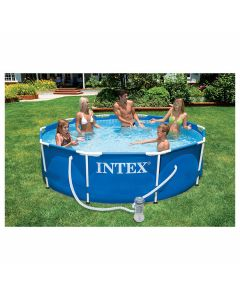 Intex Frame Pool 366x76cm met 2271L pomp