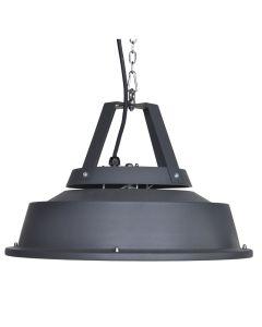 Hangende heater Retro 43 cm - donker grijs