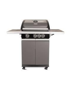 Patton Patio Pro Chef gasbarbecue 3+1 - frozen grey