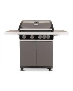 Patton Patio Pro Chef gasbarbecue 4+1 - frozen grey