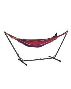 Hangmat met standaard Honduras rood