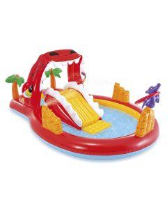 Intex happy dino play center opblaasbaar zwembad