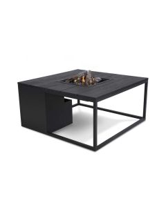 Cosiloft lounge gas vuurtafel 100 cm - black top