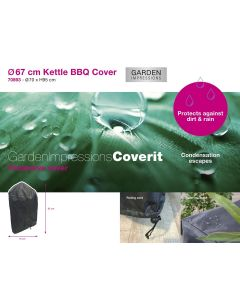Barbecue hoes Ø67 cm - Coverit