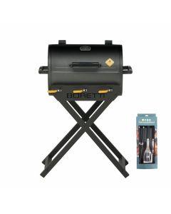 Boretti Addizio gasbarbecue + gereedschapsset
