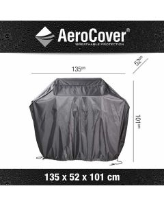 Platinum AeroCover barbecuehoes M antraciet