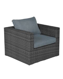 Bruno lounge fauteuil - donker grijs