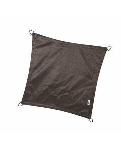 Nesling Coolfit schaduwdoek vierkant 3-6x3-6x3-6x3-6m - Antraciet Polyester