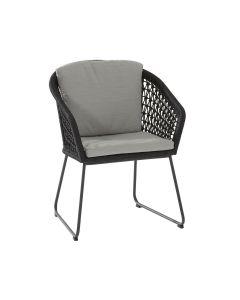 Mila dining stoel - donker grijs