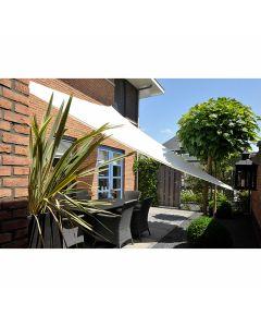 Nesling Dreamsail waterproof schaduwdoek driehoek 4x4x4 m - Cream Polyester