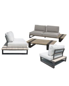 Duke loungeset 4-delig - showroommodel